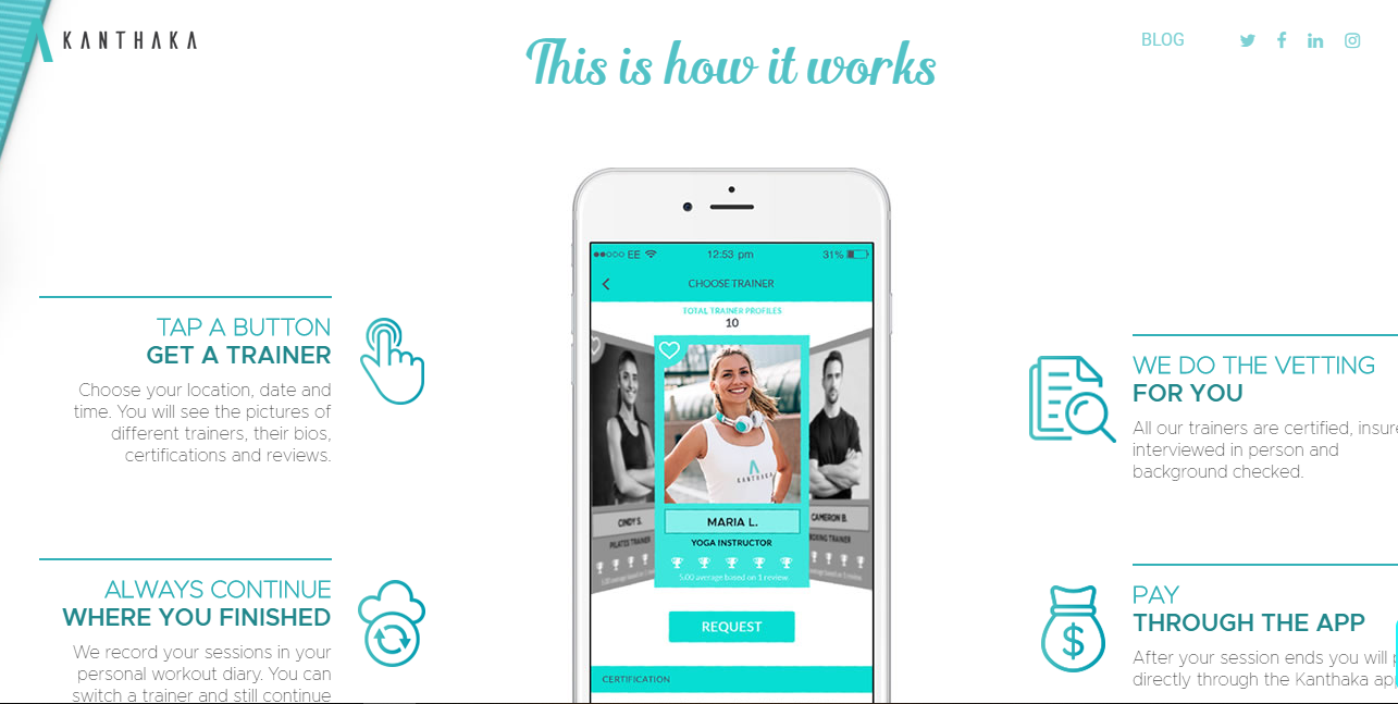 My Kanthaka Review: Smart Way To Book Your Personal Trainers