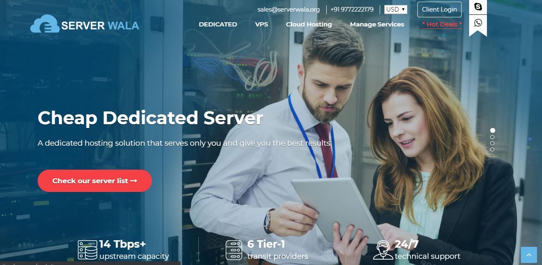 Serverwala Review: The Best & Cheap Dedicated Server